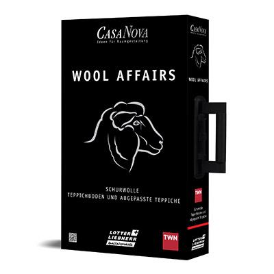 CasaNova WOOL AFFAIRS Schurwolle Teppichboden und abgepasste Teppiche